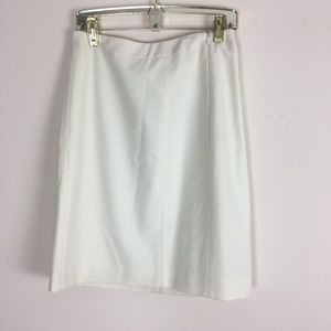 Lafayette 148 | Cream Pencil Skirt